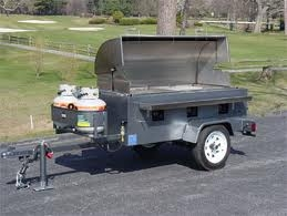 Grill, Tow Behind Pig Roaster