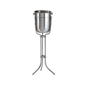Wine Bucket SS w/Stand