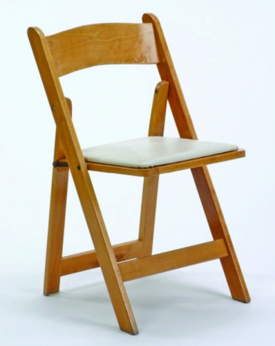 Natural Wooden Folding Chair