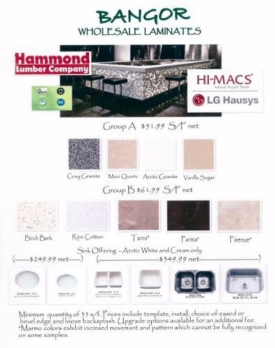 Hi-MACS Bangor Wholesale Laminates - Kitchen