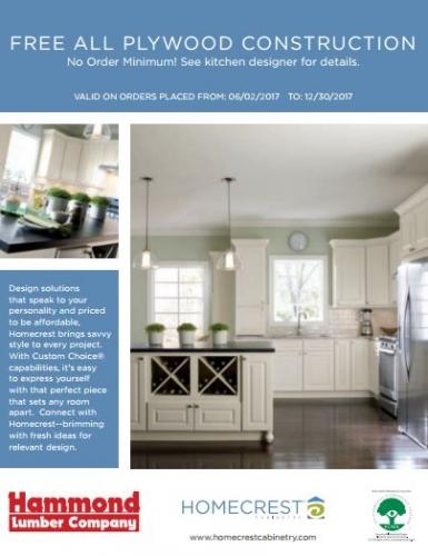 Homecrest Cabinetry - Kitchen