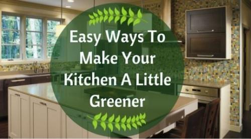Eco Friendly Kitchen Designs