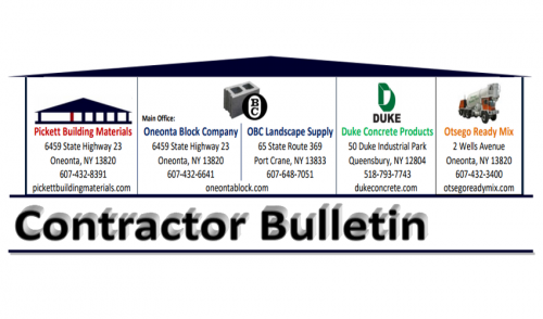 May 2016 Contractor Bulletin