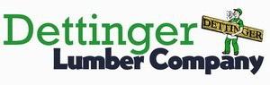 Dettinger Lumber Company Logo