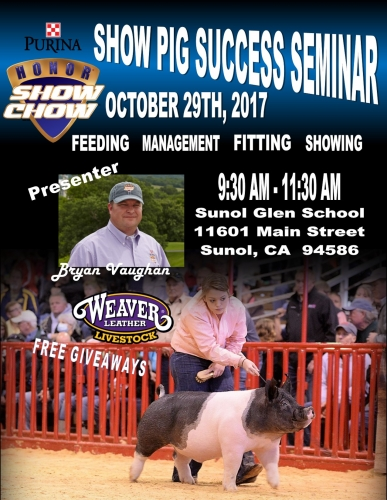 Purina® Show Pig Success Seminar