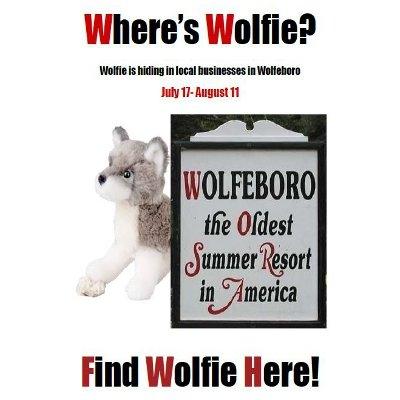 'Where's Wolfie' Scavenger Hunt