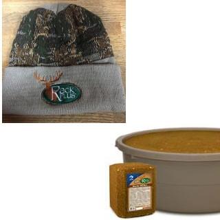 Rack Plus Deer Blocks- Buy 4 Get a FREE Winter Hat
