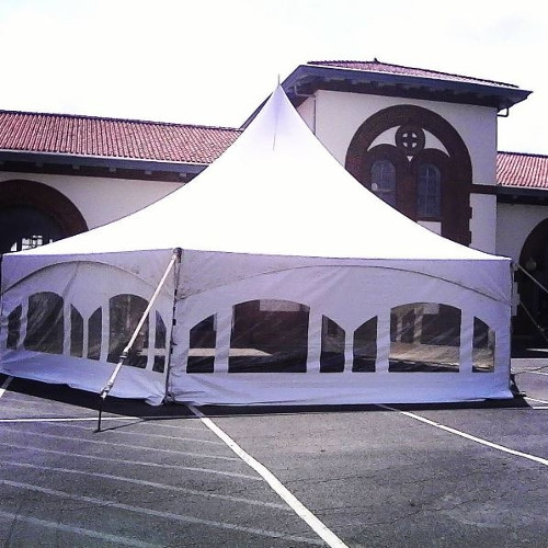 Tented