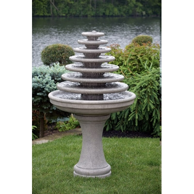 Seven Tier Gozo Cement Fountain
