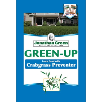 Jonathan Green Green-Up Lawn Food with Crabgrass Preventer, 21-0-3