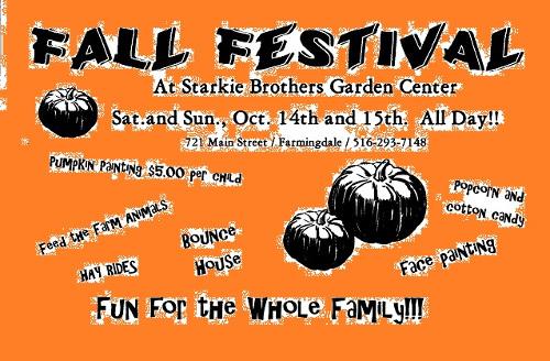 Starkie Bros Fall Festival