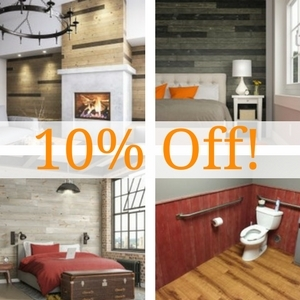 10% Off Easy Wood Planks