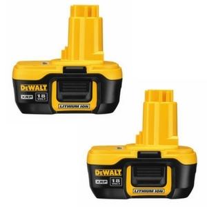 DeWalt 18v Battery 2 Pack Only $99.99