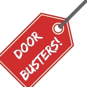 July Door Buster Sales Flyer