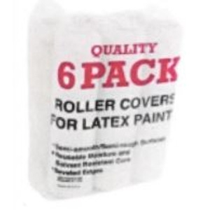 6 Pack Paint Roller Covers Now $3.99
