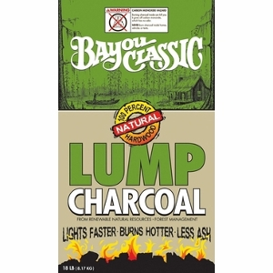 18 Pound Lump Charcoal Now $9.99