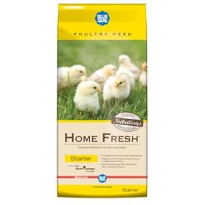Home Fresh Starter Medicated Crumble