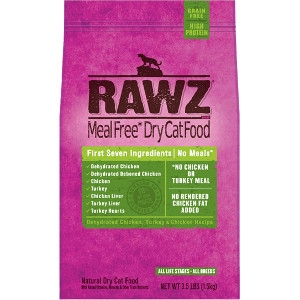 RAWZ Dry Cat Food 1.75lb Bags- B1G1 Free