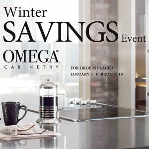 Omega Cabinetry Winter Savings Event